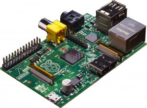 Raspberry Pi card computer